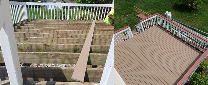 Deck repairs restoration and deck building in MA & NH